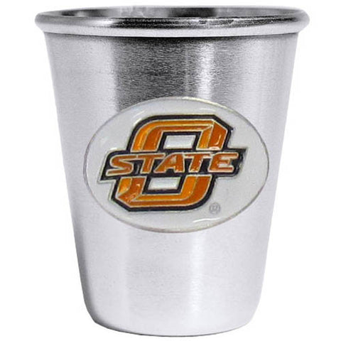 Oklahoma State Cowboys Steel Shot Glass