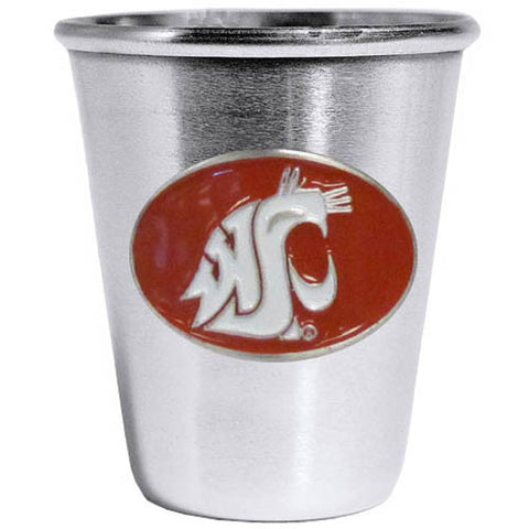 Washington St. Cougars Steel Shot Glass