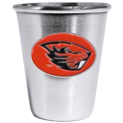 Oregon St. Beavers Steel Shot Glass