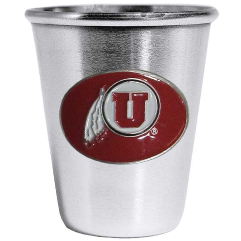 Utah Utes Steel Shot Glass