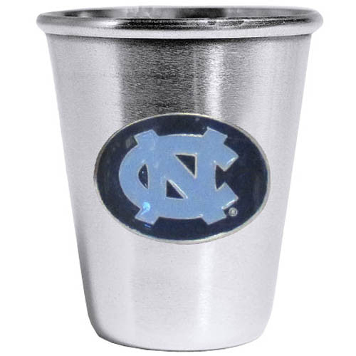 N. Carolina Tar Heels Steel Shot Glass
