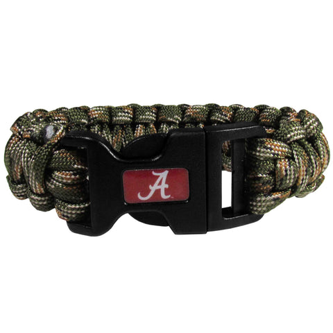 Alabama Crimson Tide Camo Survivor Bracelet - CSUB13GC