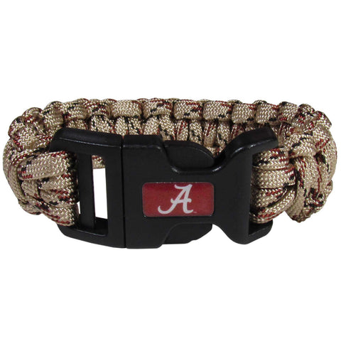 Alabama Crimson Tide Camo Survivor Bracelet - CSUB13TC