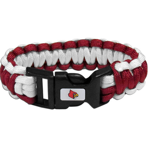 Louisville Cardinals Survivor Bracelet