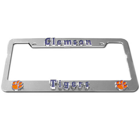 Clemson Tigers Deluxe Tag Frame