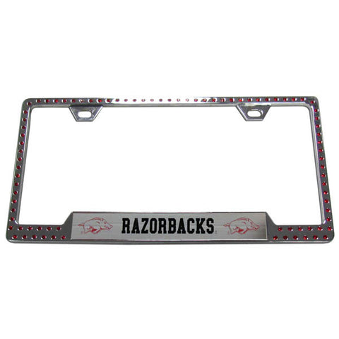 Arkansas Razorbacks Bling Tag Frame