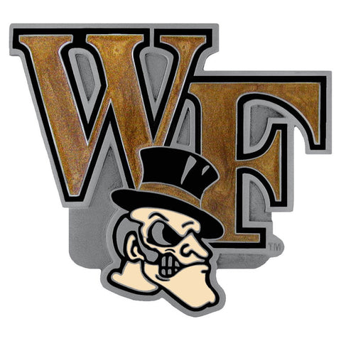 Wake Forest Demon Deacons Hitch Cover Class III Wire Plugs
