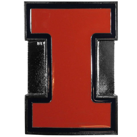 Illinois Fighting Illini Hitch Cover Class III Wire Plugs