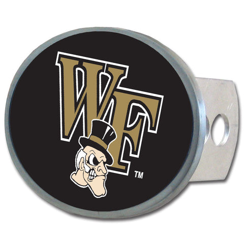 Wake Forest Demon Deacons Oval Metal Hitch Cover Class II and III