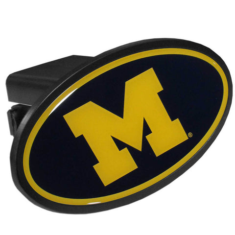 Michigan Wolverines  Plastic Hitch Cover Class III