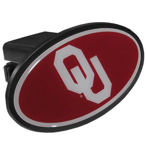 Oklahoma Sooners  Plastic Hitch Cover Class III