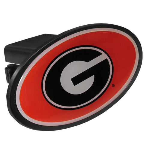 Georgia Bulldogs Plastic Hitch Cover Class III