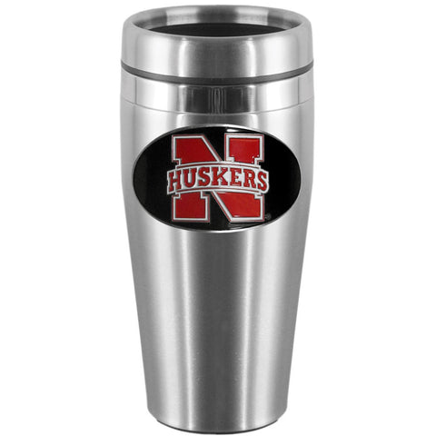 Nebraska Cornhuskers Steel Travel Mug