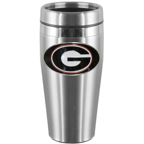 Georgia Bulldogs Steel Travel Mug