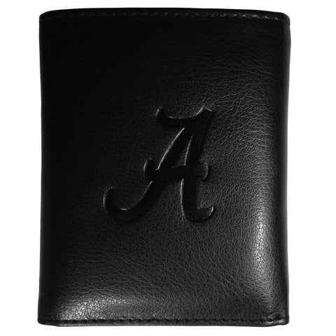 Alabama Crimson Tide Embossed Tri-fold Wallet