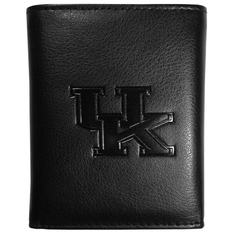 Kentucky Wildcats Embossed Tri-fold Wallet