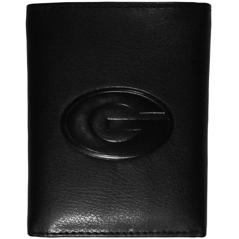 Georgia Bulldogs Embossed Tri-fold Wallet