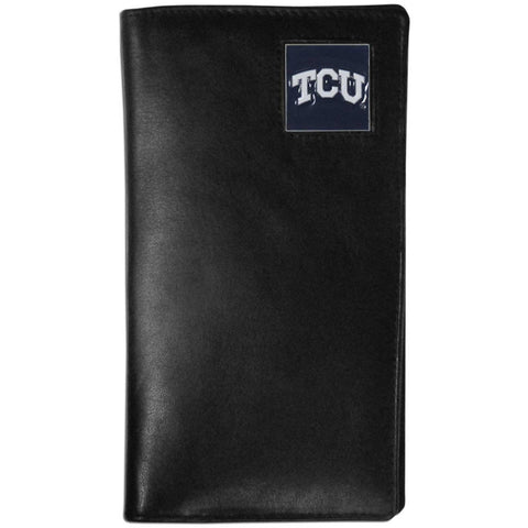 TCU Horned Frogs Leather Tall Wallet