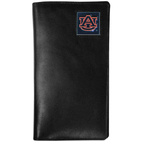 Auburn Tigers Leather Tall Wallet