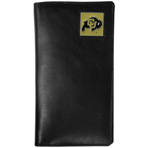 Colorado Buffaloes Leather Tall Wallet