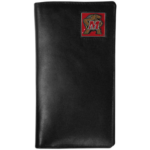 Maryland Terrapins Leather Tall Wallet