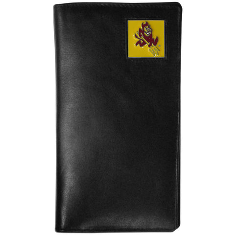 Arizona St. Sun Devils Leather Tall Wallet