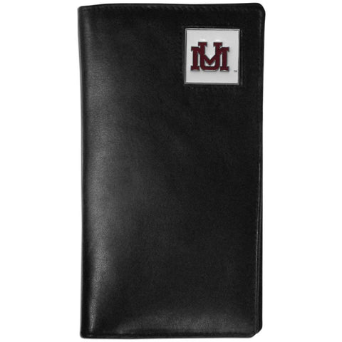 Montana Grizzlies Leather Tall Wallet