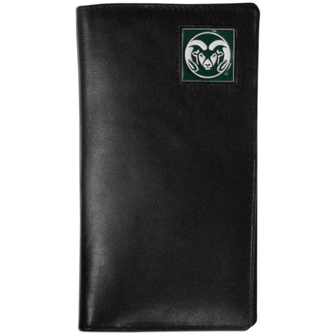 Colorado St. Rams Leather Tall Wallet