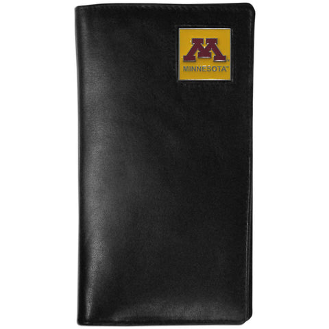 Minnesota Golden Gophers Leather Tall Wallet