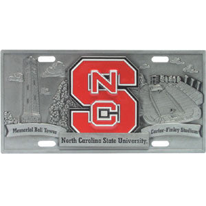 N. Carolina St. Wolfpack Collector's License Plate