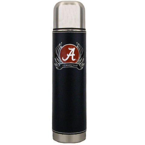 Alabama Crimson Tide Thermos with Flame Emblem