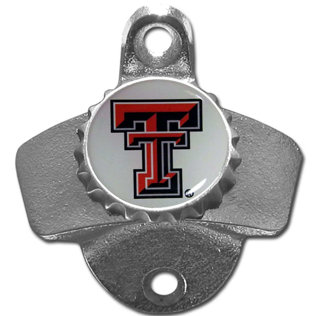 Texas Tech Raiders Wall Mounted Bottle Opener