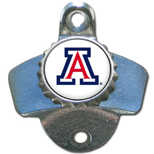 Arizona Wildcats Wall Mounted Bottle Opener