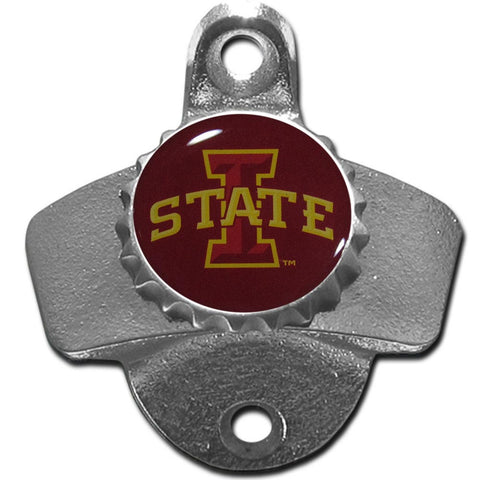 Iowa St. Cyclones Wall Mounted Bottle Opener