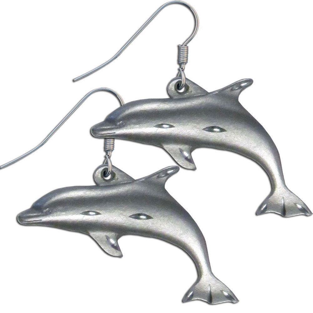 Dangle Earrings - Dolphins