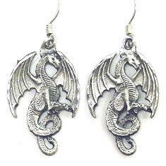 Dangle Earrings - Dragon