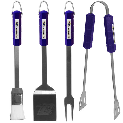 Baltimore Ravens 4 pc BBQ Set