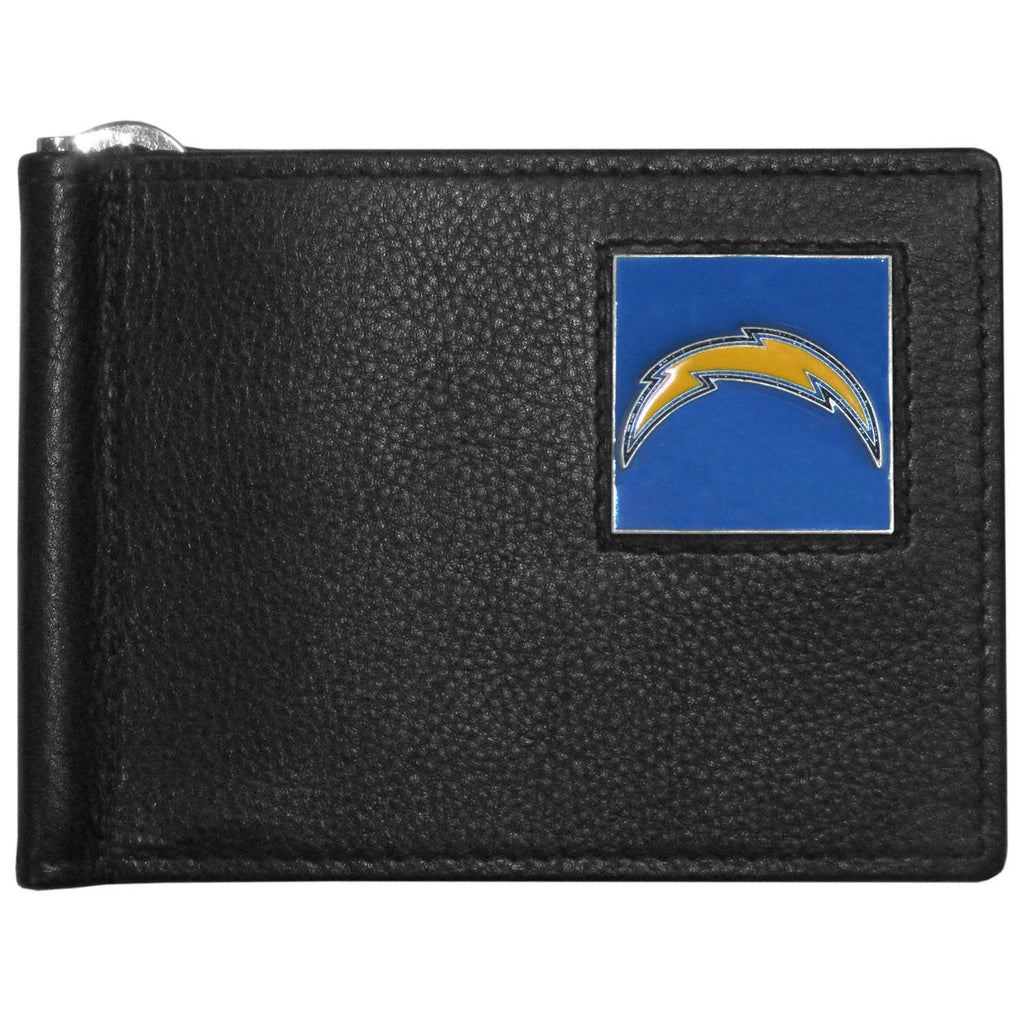 San Diego Chargers Leather Bill Clip Wallet