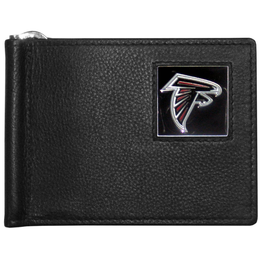 Atlanta Falcons Leather Bill Clip Wallet