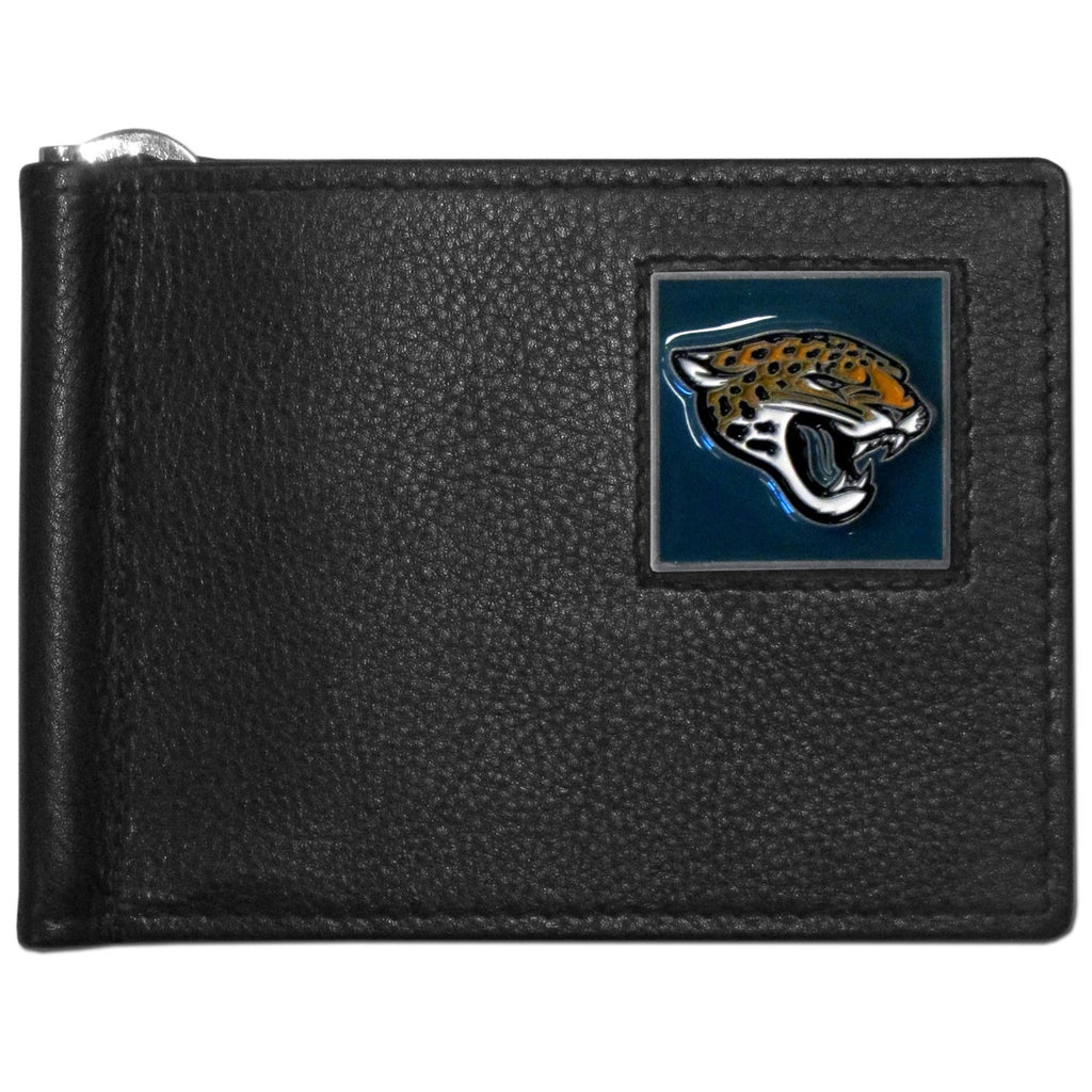 Jacksonville Jaguars Leather Bill Clip Wallet