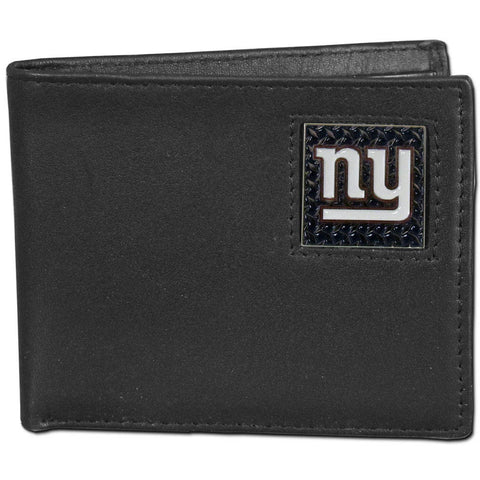 New York Giants Gridiron Leather Bi-fold Wallet