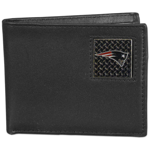 New England Patriots Gridiron Leather Bi-fold Wallet