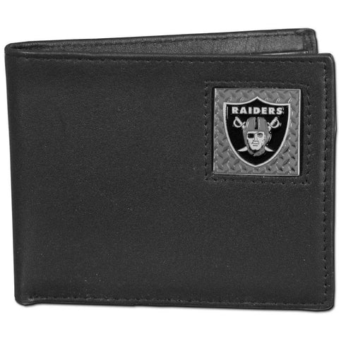 Oakland Raiders Gridiron Leather Bi-fold Wallet