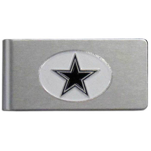 Dallas Cowboys Brushed Metal Money Clip