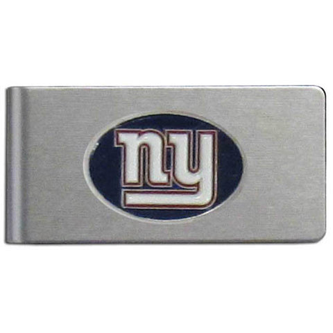 New York Giants Brushed Metal Money Clip