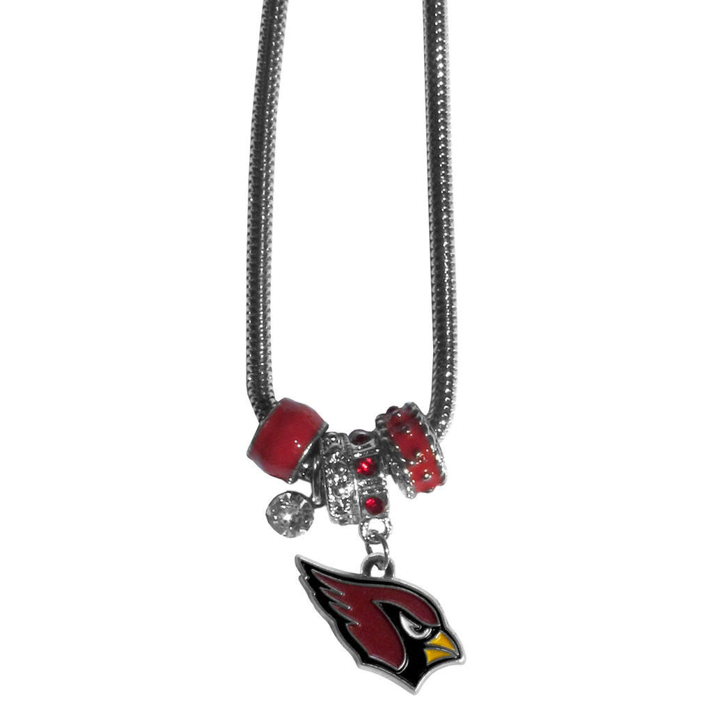 Arizona Cardinals Euro Bead Necklace