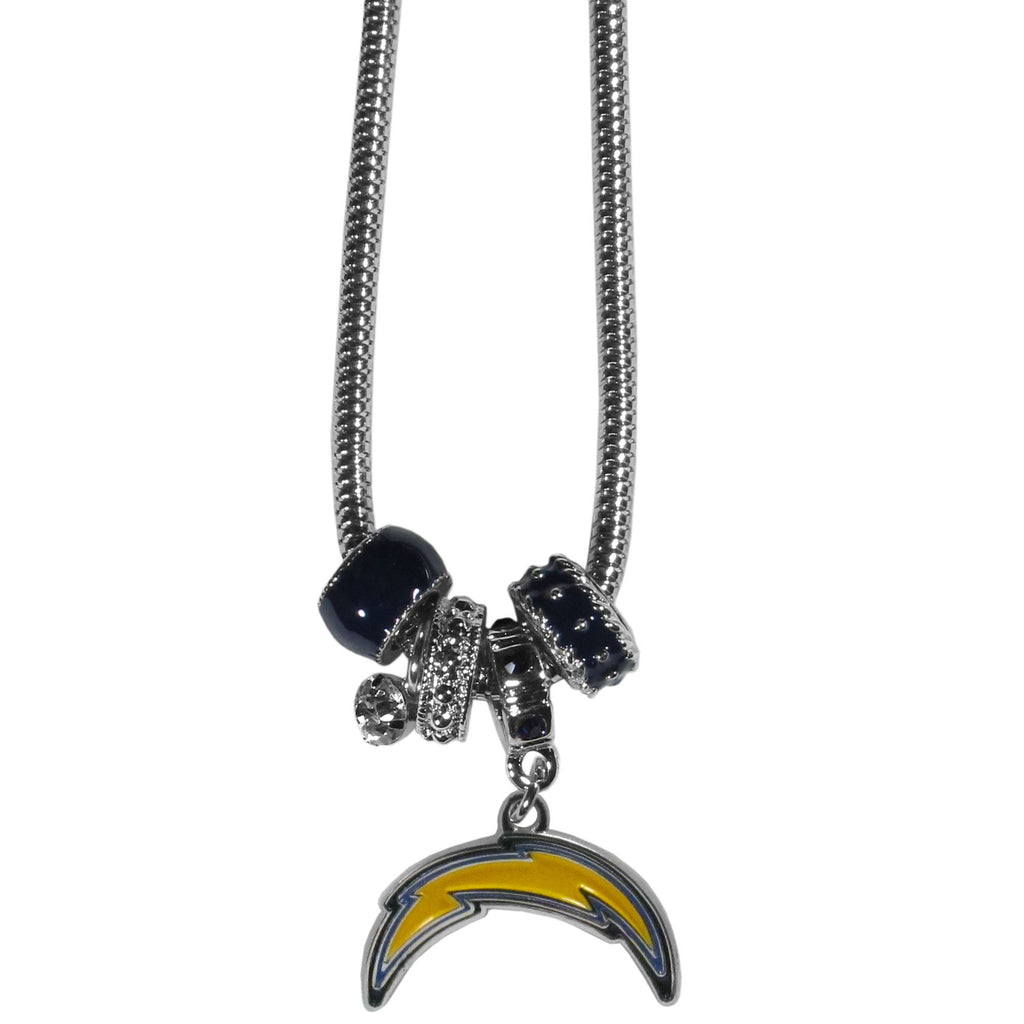 San Diego Chargers Euro Bead Necklace