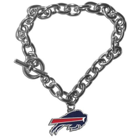 Buffalo Bills Charm Chain Bracelet