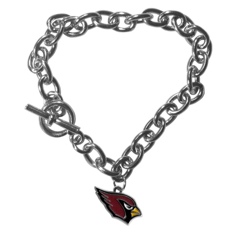 Arizona Cardinals Charm Chain Bracelet