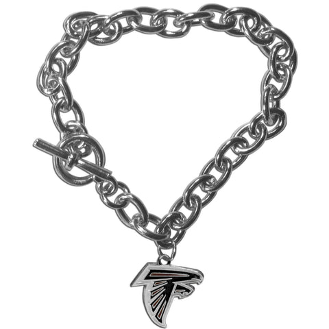 Atlanta Falcons Charm Chain Bracelet